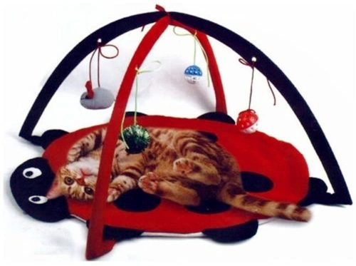 2.Petty Love House Cat Activity Center with Hanging