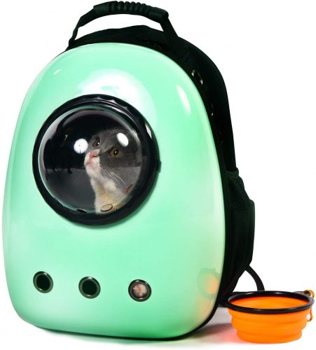 1. Scurrty Xpect Cat Carrier Bubble Backpack