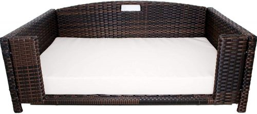 Iconic Pet Rectangular Rattan