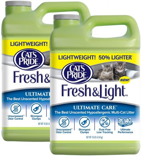 Cat's Pride Fresh and Light Ultimate Care Lightweight - Flushable Cat Litter