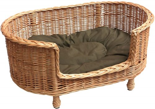 Prestige Wicker Handmade Willow Dog Bed