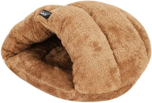 Pet House Bed Indoor Portable Soft Warm Winter - Burrow Dog Bed