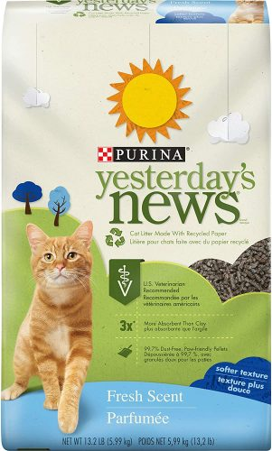 Purina Yesterday's News Fresh Scent & Clean Scent