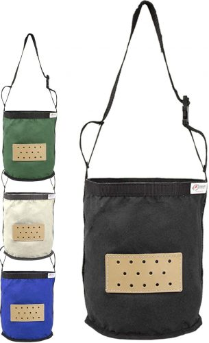 Derby Originals Leather Vented Canvas Feed Bag