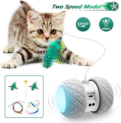 Ralthy Interactive Robotic Cat Toys