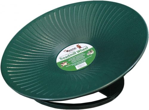 "Treadmill Wheel 14"" Green - Chinchilla wheels"