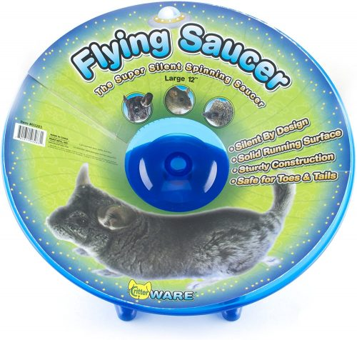 Ware Manufacturing Flying Saucer Exercise Wheel - Chinchilla wheels