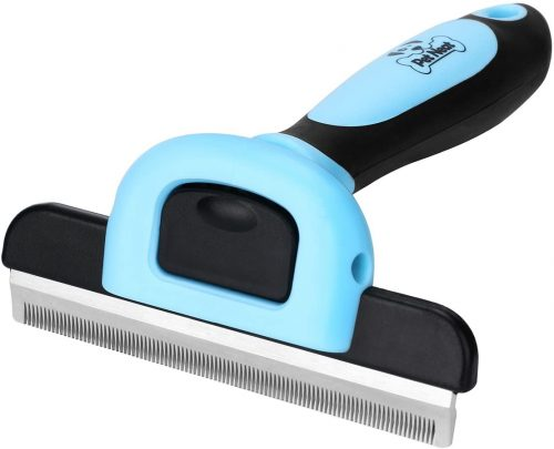 Pet Grooming Brush Effectively Reduces Shedding - Dog Grooming Comb