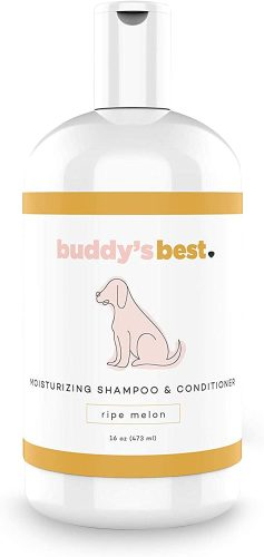Buddy's Best, Natural Dog Shampoo and Conditioner| Hypoallergenic Dog Shampoo