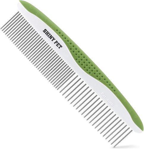 Dog Comb for Removes Tangles and Knots - Dog Grooming Comb