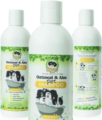 Dog Shampoo for Smelly Puppy, Cat, Small Pet