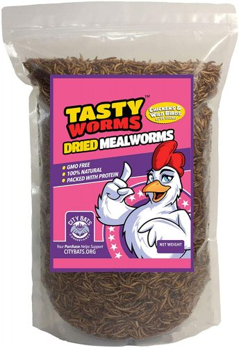 Tasty Worms 1 Lb Freeze-Dried Mealworms