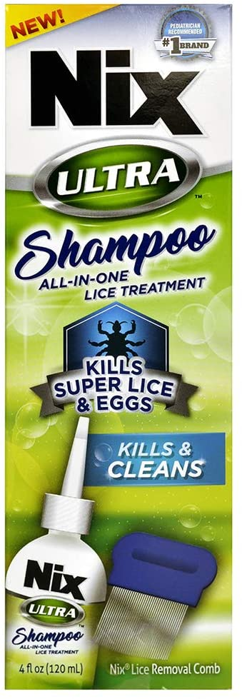 NIX Ultra Shampoo Lice Treatment