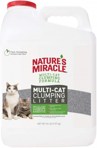 Nature's Miracle Multi-Cat Clumping Clay Litter