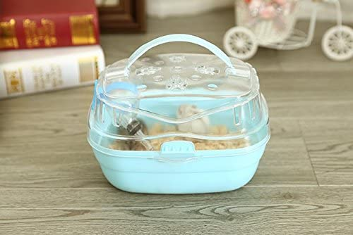 Misyue Portable Carrier Hamster Carry Case Cage