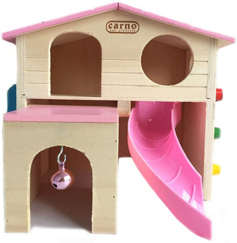 kathson Pet Small Animal Hideout Hamster House