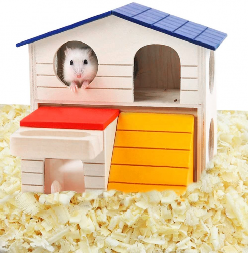 Hkim Hamster Hideout House - Syrian Hamster Toy