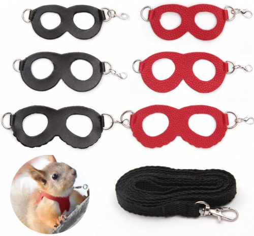 Sayopin Adjustable Reptile Bearded Dragon Harness - Hamster leashes
