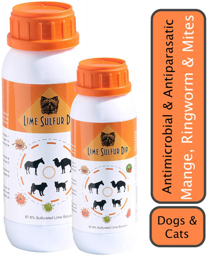 Classic's Lime Sulfur Dip - Pet Care and Veterinary Treatment  - dog lice treatment