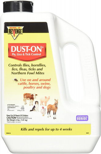 Bonide Products Fly, Lice & Tick Control Dust-On, 4 lb - dog lice treatment