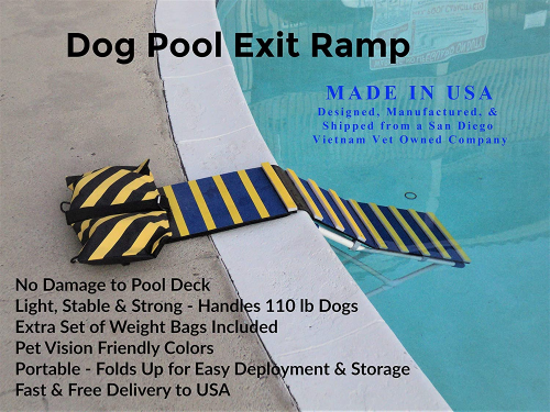 KHTS6310 Dog Pool Exit Ramp