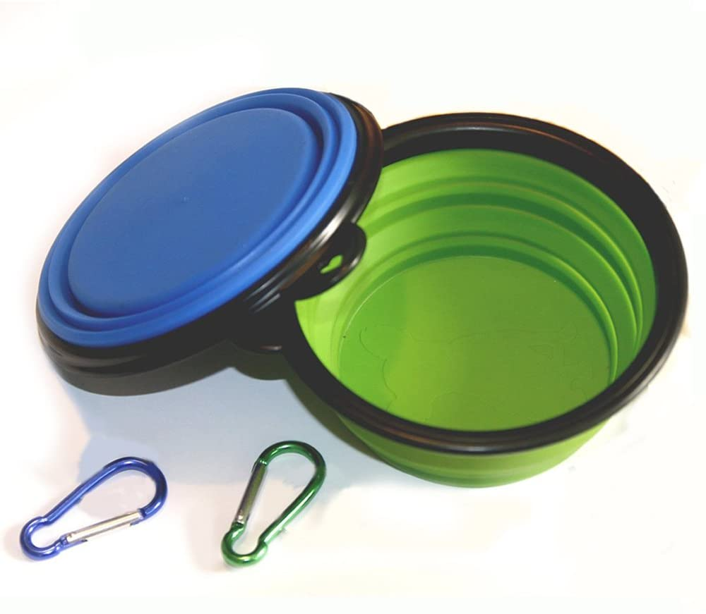 1. Comsum Collapsible Dog Bowl