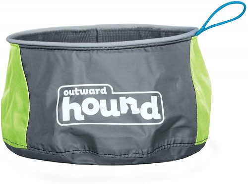 Outward Hound Port-a-Bowl - Collapsible Dog Bowl