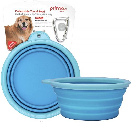 Prima Pet Food and Water - Collapsible Dog Bowl