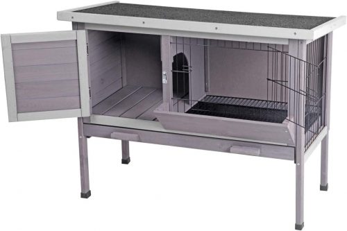 Aivituvin Wooden Bunny Cages - Outdoor Rabbit Cages