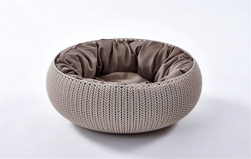 Curver Plastic Bed for Pets - plastic dog beds