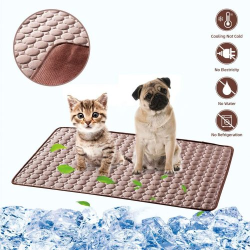 LHRXTY Dog Cooling Mat Pet Self Cooling - Cooling Blankets for Dogs