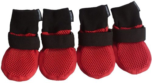 LONSUNEER Paw Protector Dog Boots - dog booties for summer