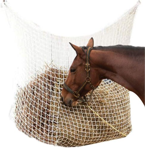 NRTFE Hay Net Slow Feed Bag - slow feeder for horses