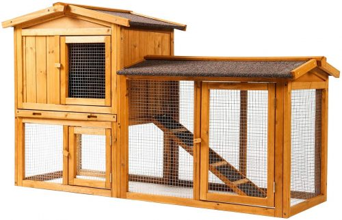 Ogrmar Large Outdoor Rabbit Cage - Outdoor Rabbit Cages
