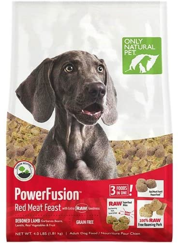 Only Natural Pet Powerfusion Raw - High Protein Dog Food