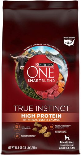 Purina ONE SmartBlend True - high protein dog food