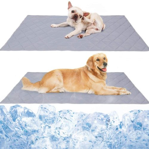 Reversible Large Pet Cooling Mat - Cooling Blankets for Dogs