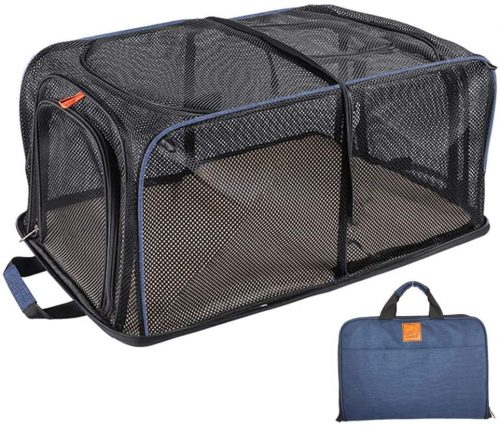 SMONT Collapsible Soft Sides Pet Crate