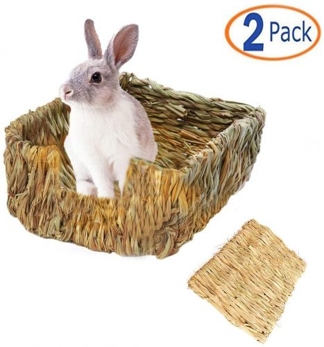 Tfwadmx Rabbit Grass Bed - bunny beds