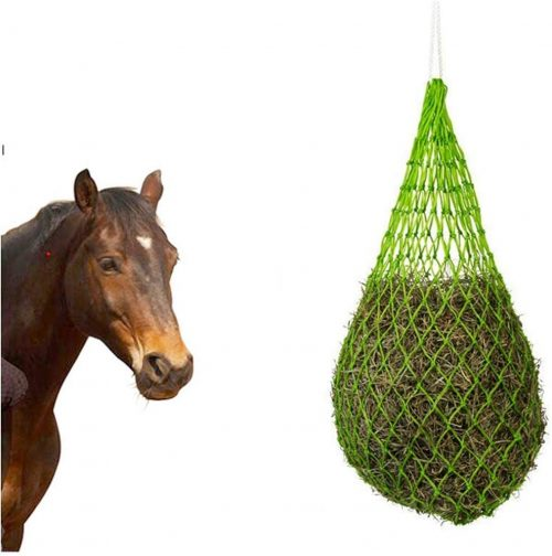 UDRENM Slow Feed Hay Net Horse Feeding - slow feeder for horses