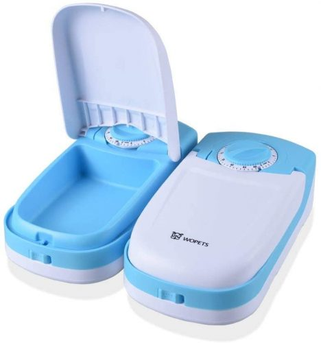 5. WOPET Automatic Dog and Cat Feeder Pet Feeder Bowl