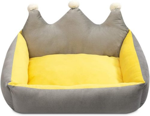 Hollypet Pet Bed for Dog and Cat Rectangle| Self Warming Dog Bed