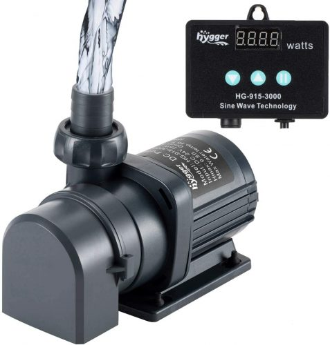 Hygger Quiet Submersible and External 24V DC Water Pump   Submersible Water Pump For Aquarium