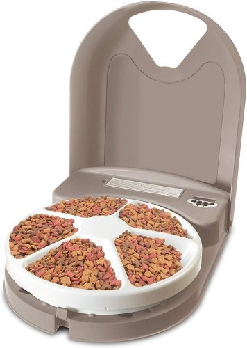 PetSafe PFD11-13707 5-Meal Automatic Feeder | Automatic Cat Feeders