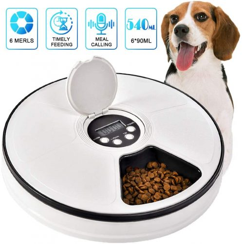 Pawzone Cat Automatic Feeder Dogs Pet Timed  | Wet Cat Food Dispenser
