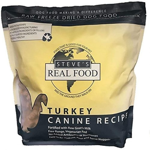 TEVE'S REAL FOOD Freeze-Dried Raw Nuggets   | Low-Fat Dog Foods