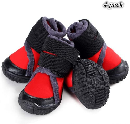 Hdwk&Hped Waterproof Small Medium Dog Boots | Dog Shoes for HikingPet