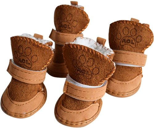 Dog Boots Paw Protector, Anti-Slip Dog Shoes| Dog Winter Boots