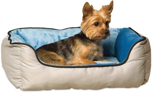 K&H Pet Products Self-Warming Lounge Sleeper Pet Bed| Self Warming Dog Bed