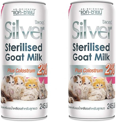 AG Canned Silver+ 100% Sterilized Goat Milk Mixed Colostrum| Goats Milk for Puppies